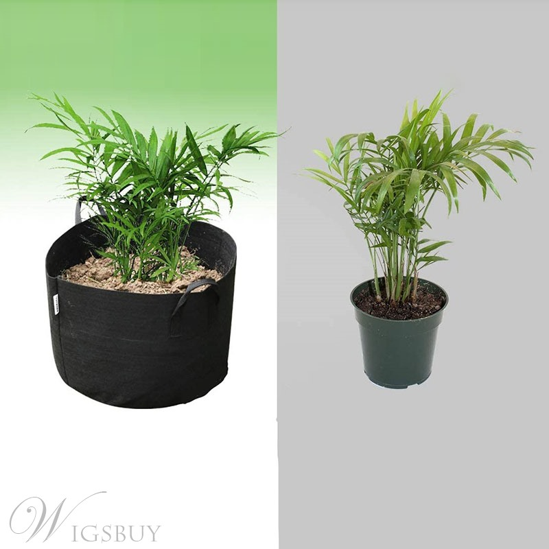 Polyester Simple Plant Flowers Grow Bags