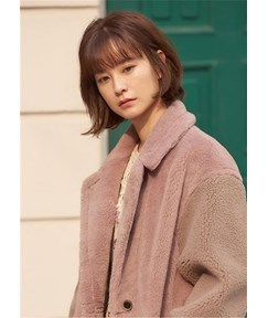 Asian Hairstyle Short Bob Synthetic Hair With Bangs 14 Inches