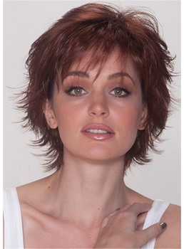 Sassy Cut Synthetic Straight Hair Women Wig 10 Inches