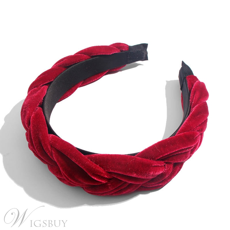 Women's Solid Color Plain Pattern Hairband Hair Accessories