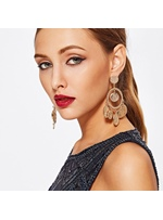 Vintage Style Women/Ladies Alloy E-Plating Technic Drop Earrings For Wedding/Party