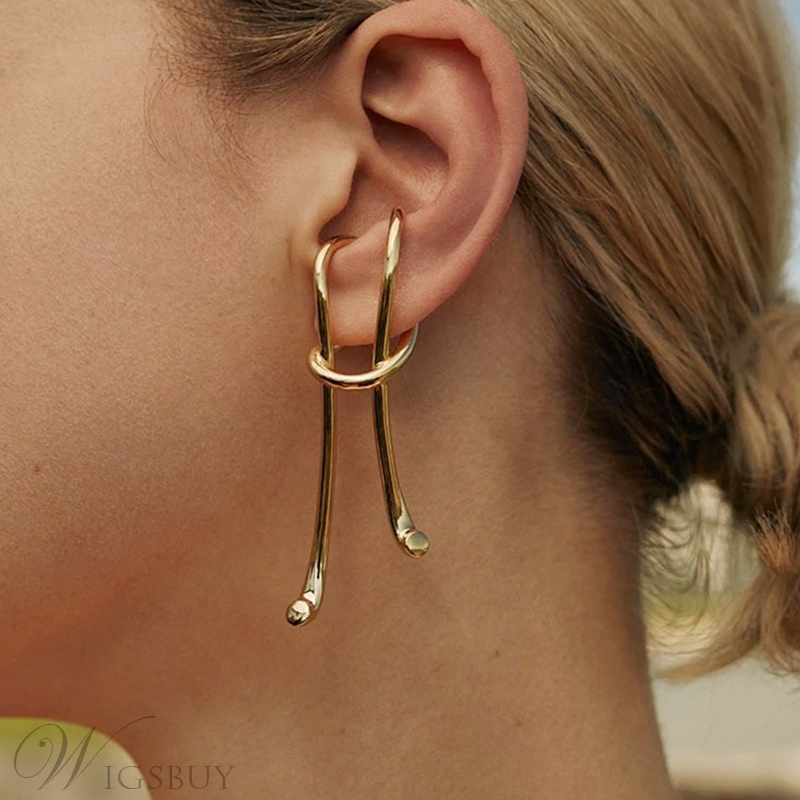 European Style Women's Alloy E-Plating Technic Ear-Hook For Wedding/Party Occasion