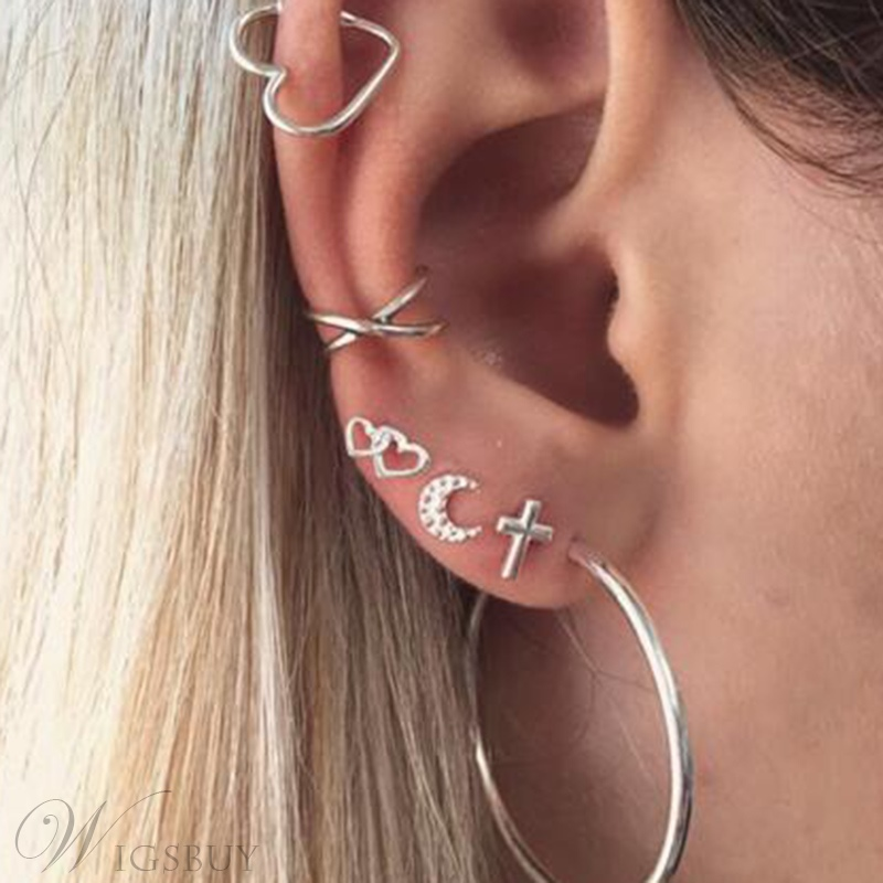 Wedding/Party Occasion Women's Vintage Style Alloy E-Plating Technic Stud Earrings