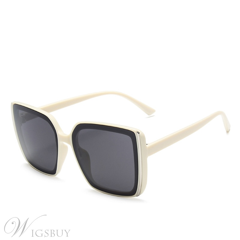 Vintage Style Unisex Women/Men's Poly Carbonate Resin Lens Wrap Sunglasses