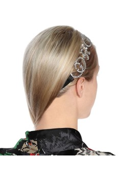 Sweet Style Women's Diamante Technic Rhinestone Material Hairband