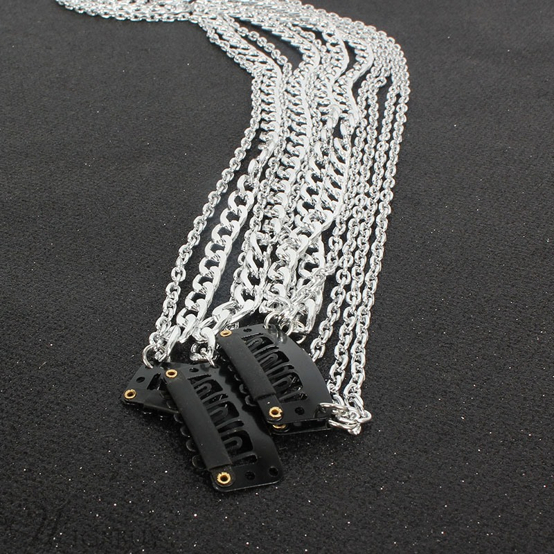 Sweet Style Women/Ladies E-Plating Technic Alloy Material Head Chain
