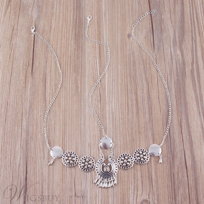 Wedding/Party Occasion Women's Vintage Style Alloy Material E-Plating Technic Head Chain