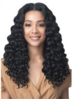 Long Hairstyle Human Hair Curly Hair Midle Part Women Wigs
