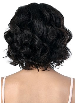 Short Messy Wavy Hair Synthetic Women Wig 10 Inches