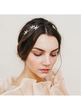 Sweet Style Adult Women's Rhinestone Material Diamante Technic Hairband