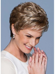 Short Pixie Boy Cut Hairstyle Women's Natural Straight Human Hair Lace Front Wigs 6Inch