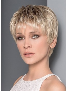 Short Pixie Cut Women Synthetic Hair Wig 10 Inches