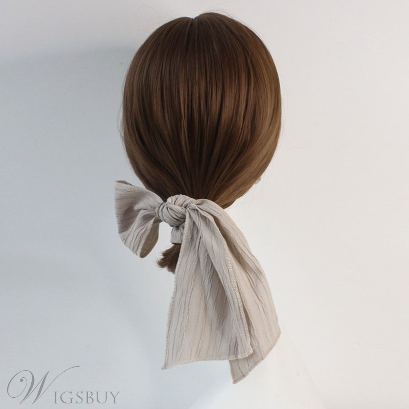Adult Women/Ladies Japanese Style Plain Pattern Hair Rope Accessories For Birthday