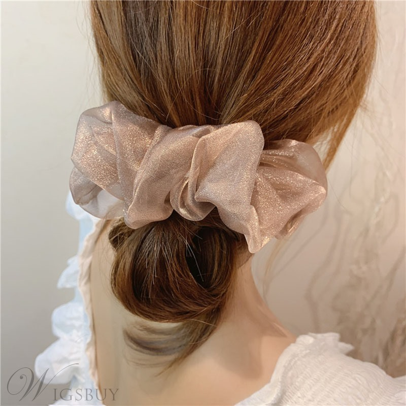 Adult Women/Lady Korean Style Yarn Material Hair Rope Accessories For Gift