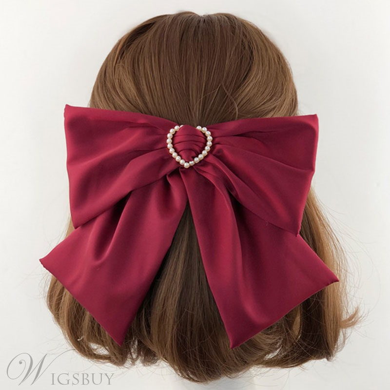 Japanese Style Adult Women/Ladies Bowknot Pattern Ribbon Hairpin Accessories
