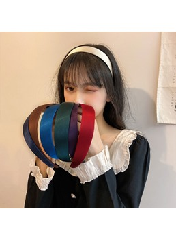 8 Colors Korean Style Women/Ladies Hair Accessories Hair Band For Birthday/Gift