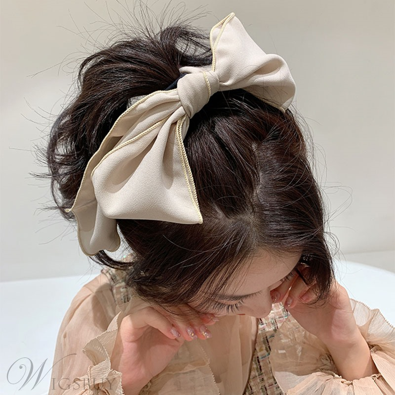 Korean Style Women's Bow knot Pattern Hair Band Hair Accessories for Gift
