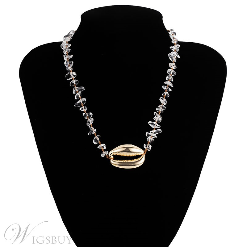 Women's Ethnic Style Alloy Pendant Material E-Plating Technic Pendant Type Becklace
