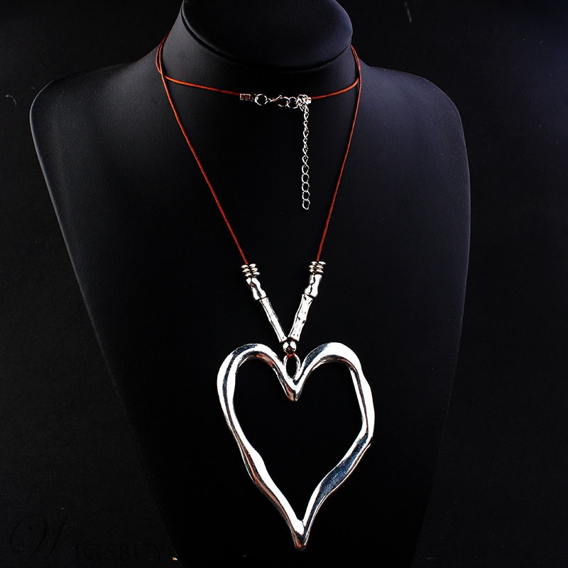 Women's Vintage Style Alloy Material E-Plating Technic Rope Chain Pendant Necklace For Anniversary Wedding Party Birthday Gift Holiday