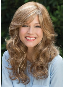 Glamorous Look Women's Long Layered Soft Wavy Synthetic Hair Capless Wigs 20Inch