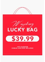 Wigsbuy Lucky Bag - 1Pcs Random Human Hair Wig Included