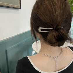 Womens Plain Pattern Alloy E-Plating Hair Accessories Hair Stick For Wedding/Party