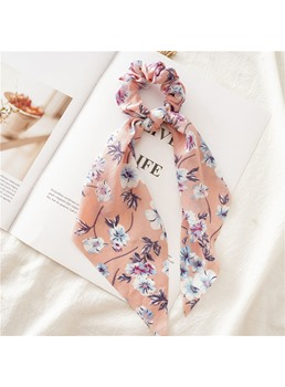 Women's Cloth Material Floral/Polka Dots Pattern Hairband Hair Accessories