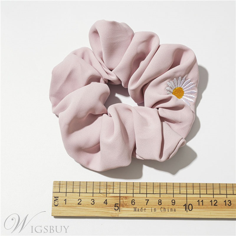 Women's Cloth Material Geometric Zodiac Floral Pattern Hair Rope Hair Accessories