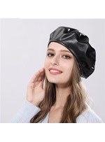 Spring/Fall/Winter Women's Plain Pattern Brimless Dome Crown Beret Hats
