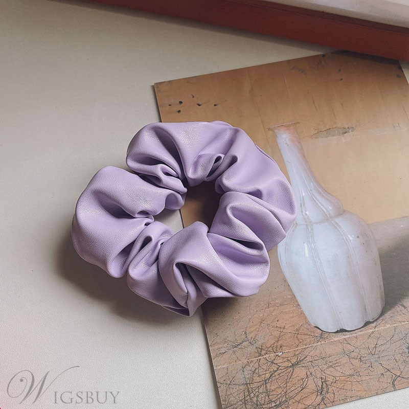 Korean Style Sports Women/Ladies Plain Pattern Hair Accessories Hair Rope For Party