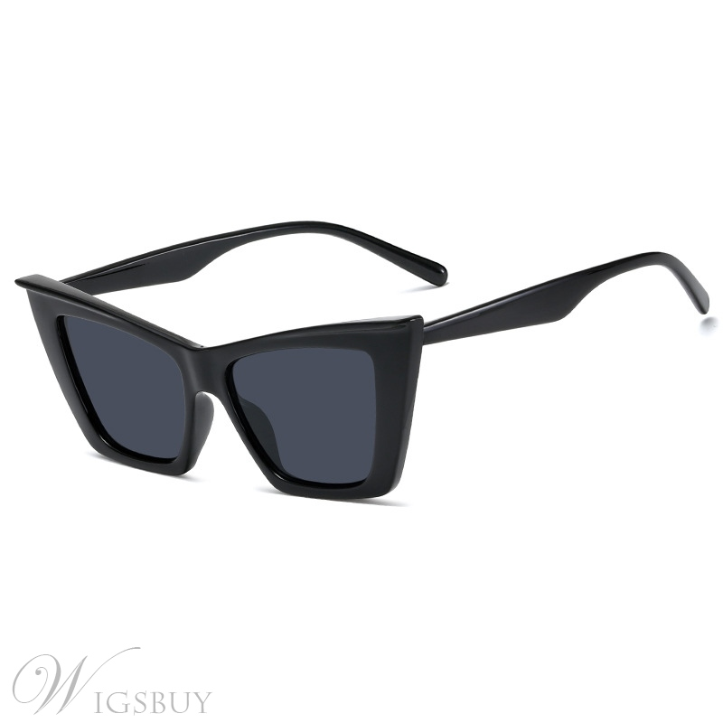 Unisex Women/Men's Fashion Poly Carbonate Anti UV Resin Lens Sunglasses