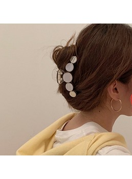 Sports Women/Ladies Geometric Pattern Hair Claw Hair Accessories