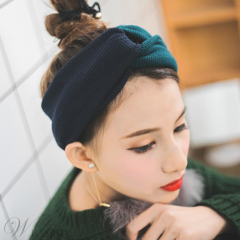 Korean Style Adult Women/Ladies Bowknot Pattern Hair Band Accessories for Wedding