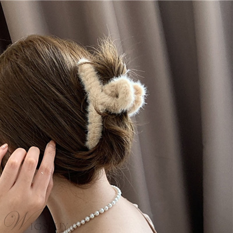 Adult Women/Ladies Korean Style Geometric Pattern Hair Accessories Hair Claw For Anniversary/Party/Birthday/Sports