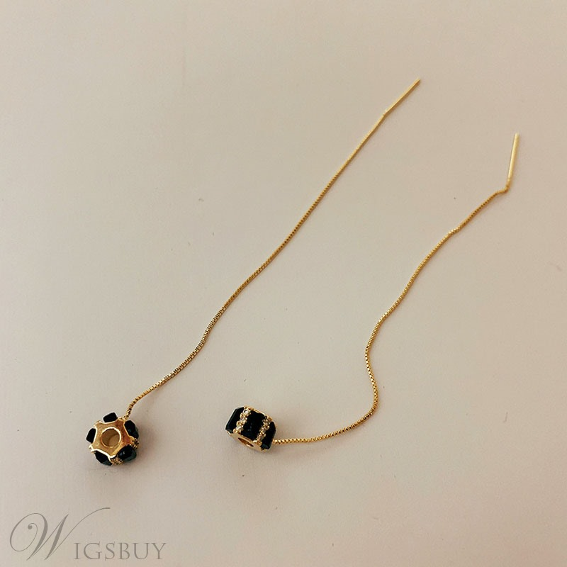 Korean Style Audlt Women's Geometric Pattern Drop Earrings For Prom/Party/Birthday/Gift