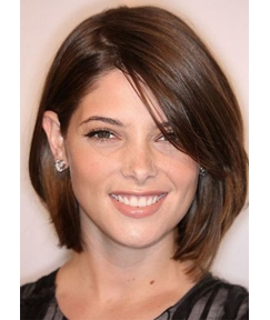 Bob Style Women's Side Part Straight Synthetic Hair Wigs Capless Wigs 10Inch