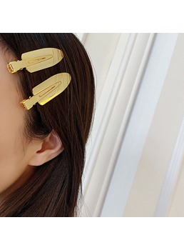 Women/Ladies Alloy Material E-Plating Technic Hair Barrette Hair Accessories