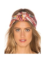 Women's European Style Geometric Pattern Cloth Hairband Hair Accessories