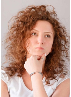 Shag Haircut Messy Curly Women's Synthetic Hair Capless Wigs 22Inch