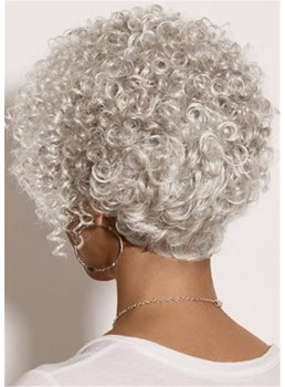 Trendy Pixie Synthetic Hair Wig With Lush Layers of Spiral Curls 10 Inches
