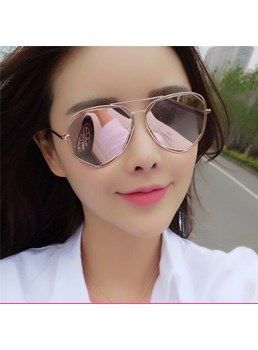 Fashion Style Women's Resin Lens Sunglasses