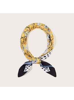 Korean Style Women's Plant Pattern Hair Accessories Headband For Party
