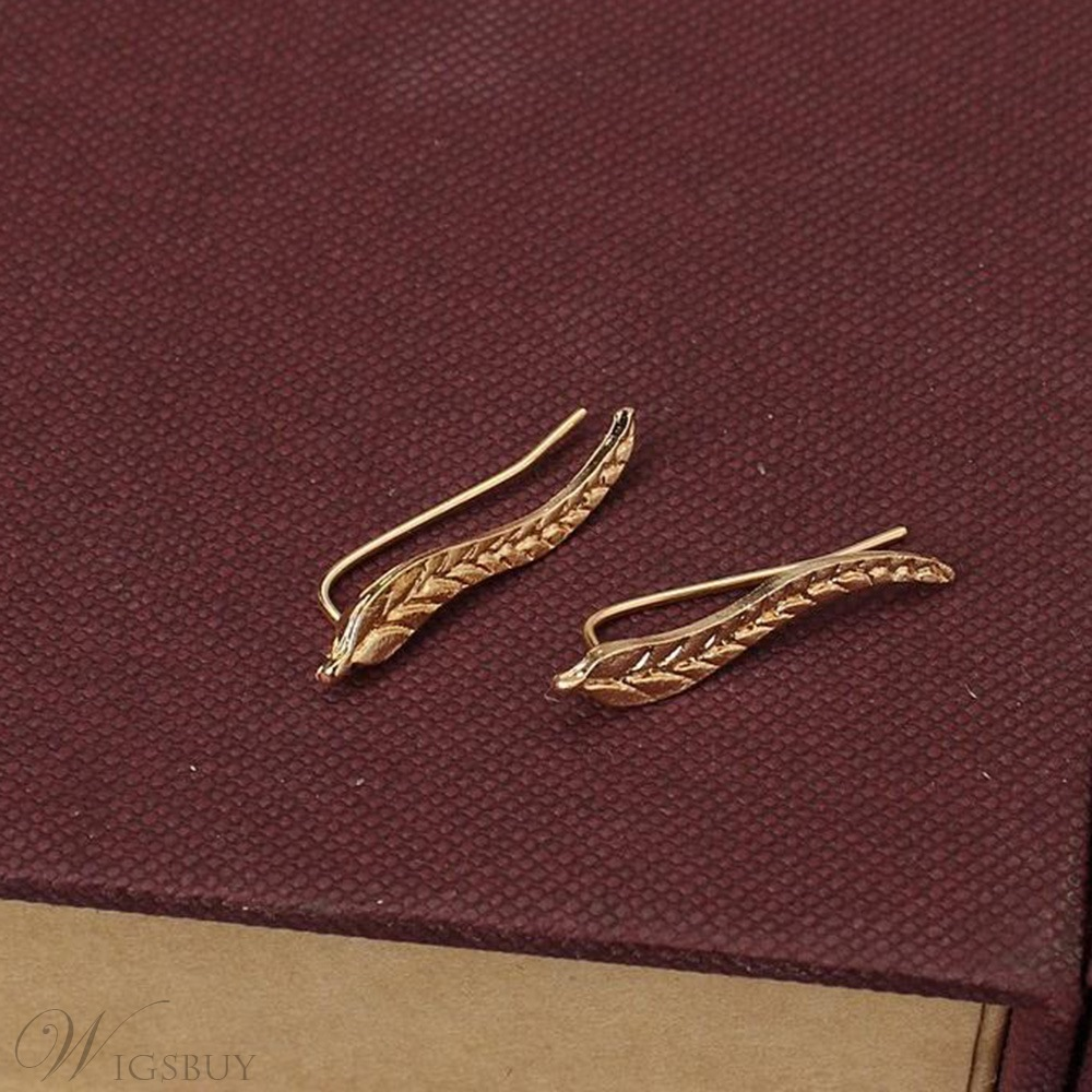 Women/Ladies Plain Pattern Alloy E-Plating Technic Stud Earrings For Party/Holiday
