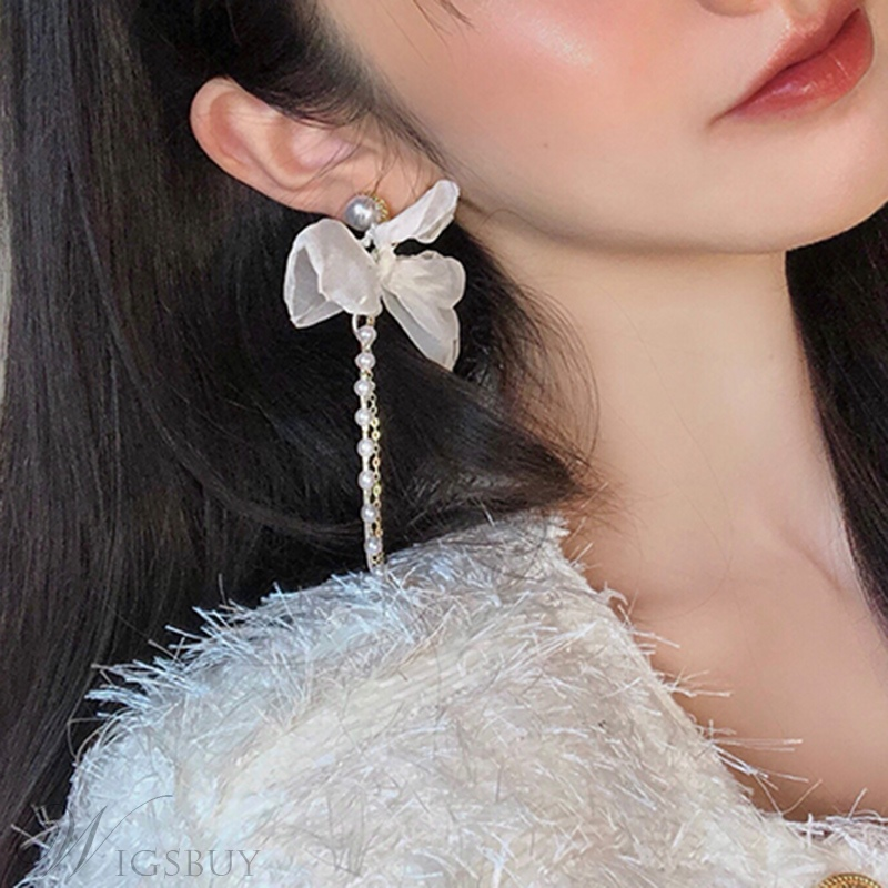 Fashion Women/Ladies Alloy Material Butterfly Pattern Drop Earrings For Prom/Gift