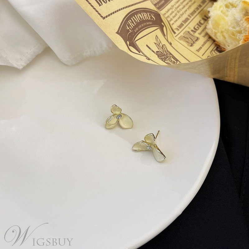 Sexy Women/Ladies Plant/Floral Pattern Alloy Material Stud Earrings For Prom/Party/Gift