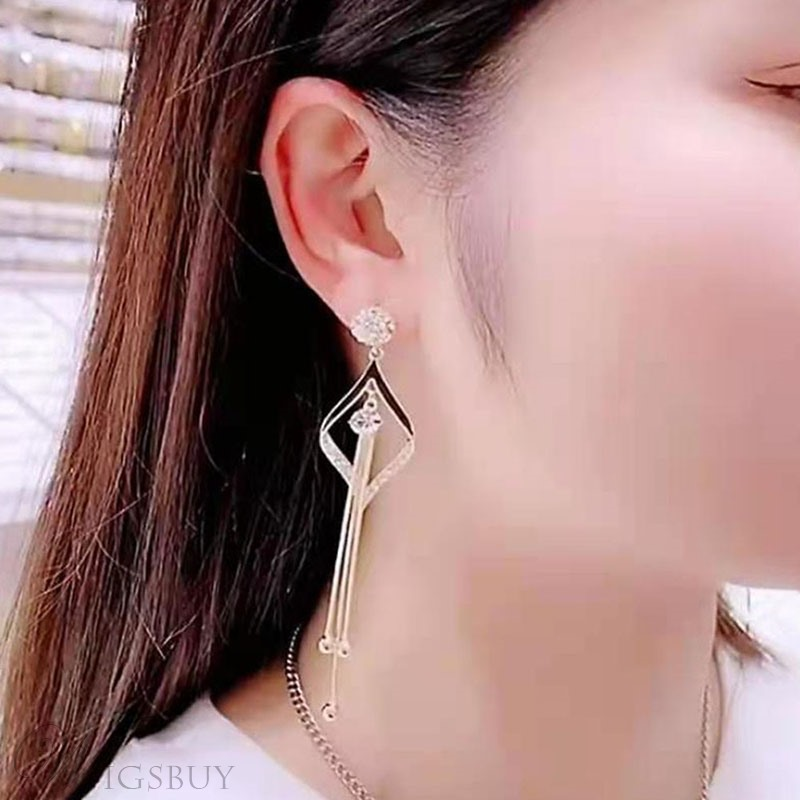 Adult Women/Ladies Alloy Material E-Plating Technic Stud Earrings For Party/Gift