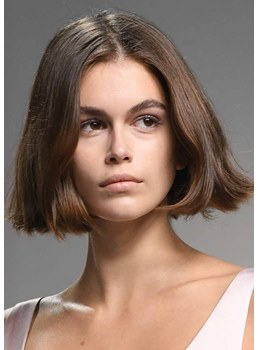 Sexy Women's Short Bob Hairstyles Straight Synthetic Hair Capless Wigs 14Inch