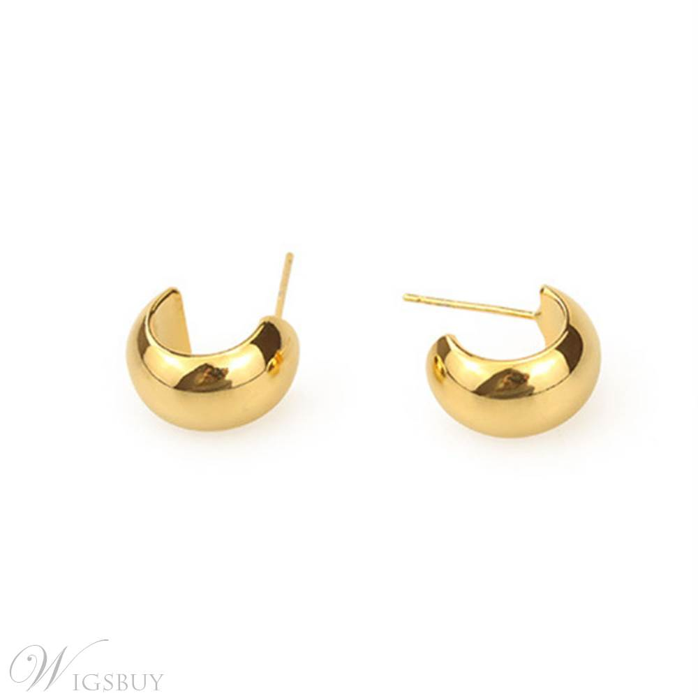 Women/Ladies European Style Geometric Pattern Stud Earrings For Prom/Anniversary/Party/Gift/Holiday