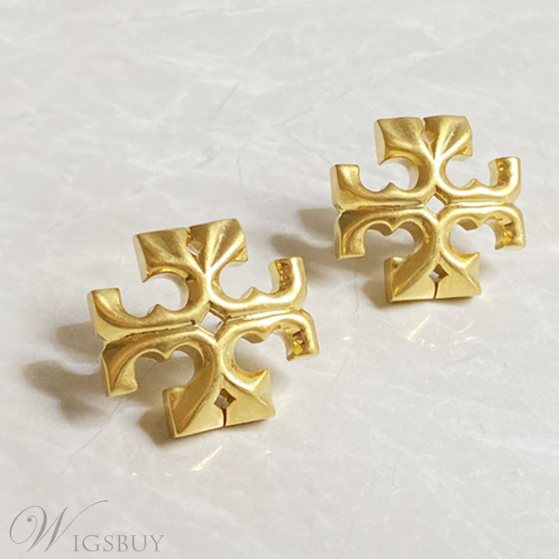 European Style Adult Women/Ladies Cross Pattern Stud Earrings For Prom/Party/Gift/Holiday