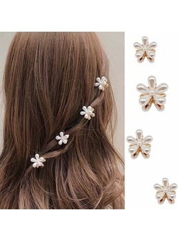 Adult Lady/Women's Sweet Style Plant Pattern Hair Claw Hair Accessories